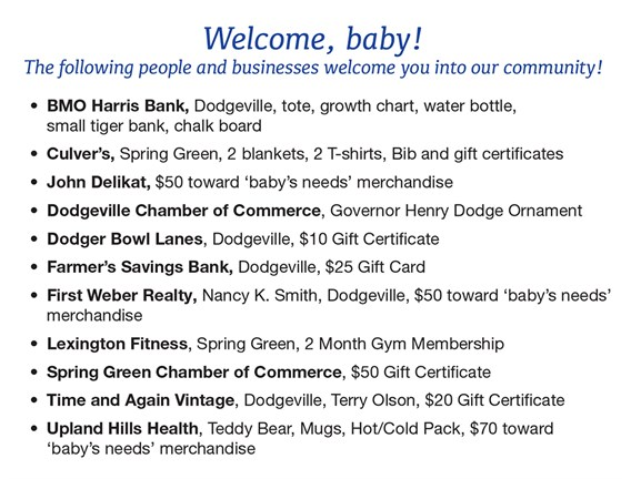 2017-New -Year -Baby -Gift Donors