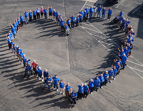 STANDING ROOM ONLY TO CELEBRATE 20 YEARS OF HEART HEALTH IN DODGEVILLE