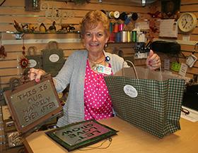 Gift Shop Volunteer