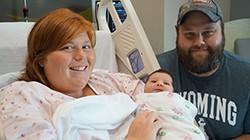 Upland Hills Health Celebrates First Babies Born in New Birth Unit