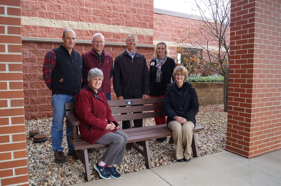Dodgeville Kiwanis Club Help Promote Recovery through Outdoor Seating Area
