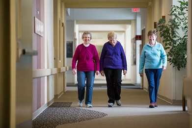 Fitness Walking in Dodgeville WI at Upland Hills Health