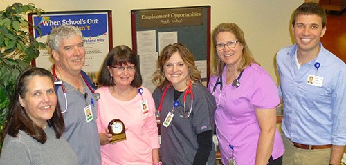 Cardiac Rehab Dept -after RWHCAward _500