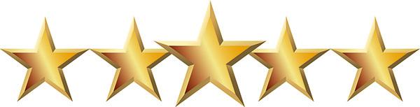 Gold Stars 600