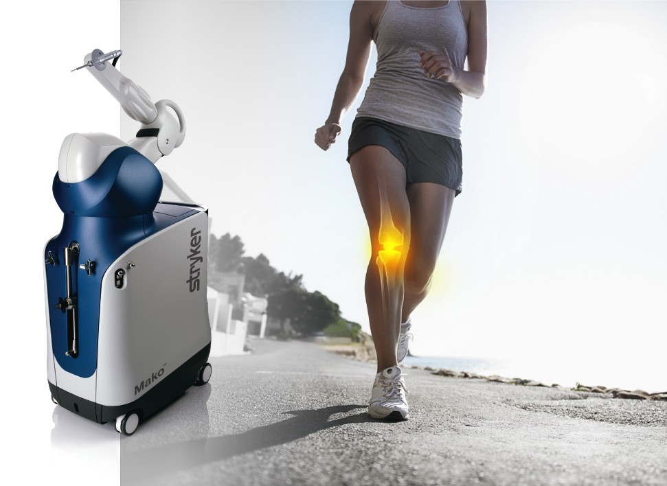 Mako robotic-assisted technology for knee replacement