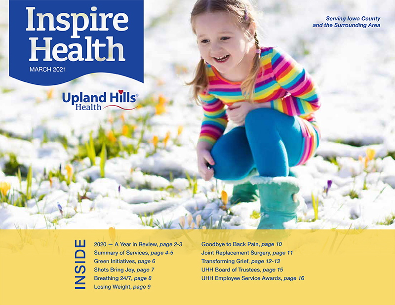 Inspire Health cover March 2021